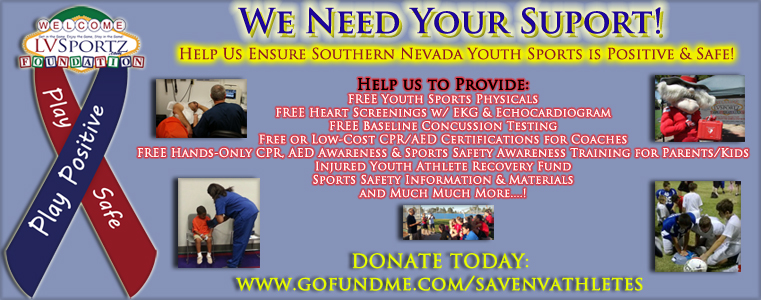 You Can Help Save Young Athletes!