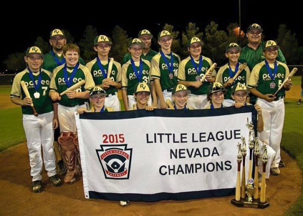 Paseo Verde Little League Wins State Heads to Western Regionals