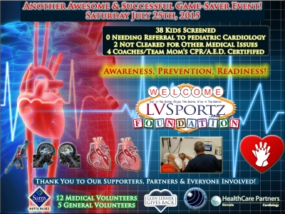 July 2015 Game-Saver Event a Success! Thank You Everyone!