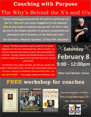 Free Coaching Seminar: Coaching with Purpose - The Why's Behind the X's & O's