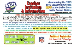 Henderson Flag Football Coach Registration