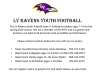 LV Ravens Youth Football Team Looking for Players