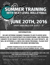 Summer Training with Next Level Volleyball
