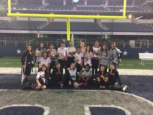 Las Vegas Area Girls Flag Football Team Wins NFL Flag National Title