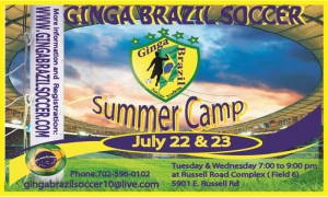 Ginga Brazil Summer Soccer Camp