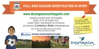 Durango Soccer Now Taking Registrations for Fall 2015 Season