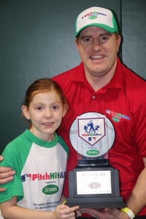 8-year old Las Vegas Girl Takes 2nd at National MLB Pitch, Hit & Run Competition
