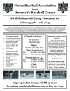 Fierce Baseball Association Presents America's Baseball Camp