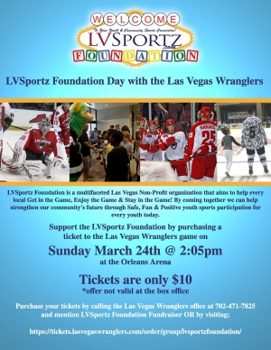 Help Us Celebrate Our 1 Year Anniversary with a Day with the Las Vegas Wranglers
