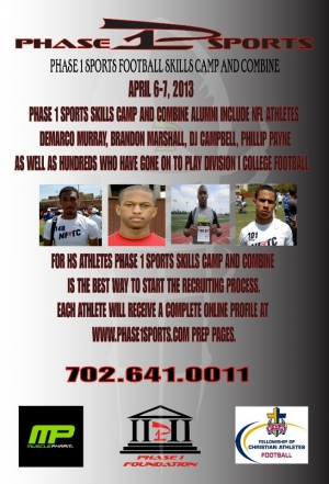 Phase 1 Sports Skills Camp and Combine