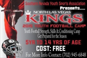 North Las Vegas Kings Youth Football Summer Camp