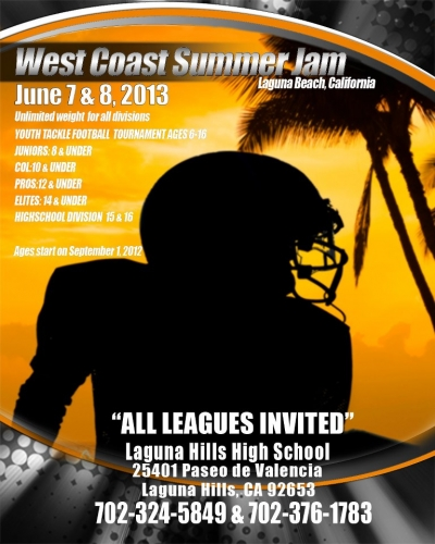West Coast Summer Jam Football Tournament
