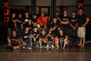 LVSF Hands Out Sports Safety Information to Jump for Joy's T.E.A.M. MMA Program