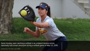 California Softball Player Dies of Aneurysm