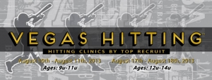 Top Recruit Vegas Hitting Clinic