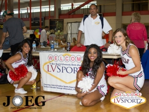 LVSF Attends Jump for Joy's Rebels Fighting Obesity Event