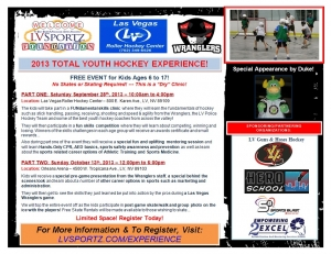 Free Total Youth Hockey Experience to Benefit Local Youth
