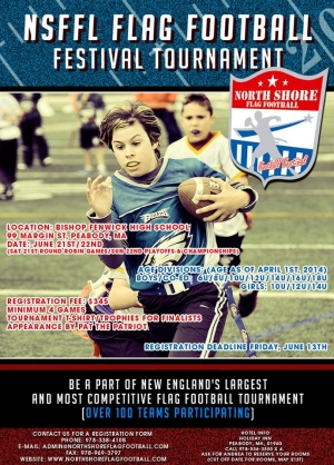 Northshore Flag Football Festival Tournament - Massachusetts
