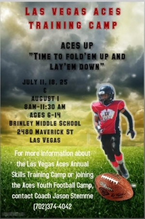 LV Aces Youth Football Looking for Players and Cheerleaders