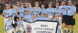 Mountain Ridge Little League Makes History, Becomes 1st Team from Nevada to Make Little League World Series