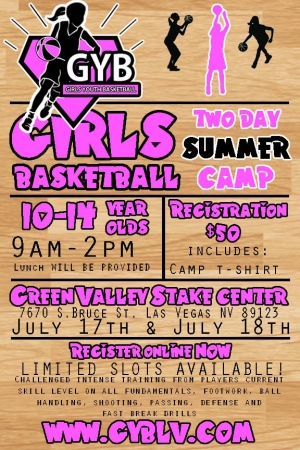 Girls Youth Basketball Camp