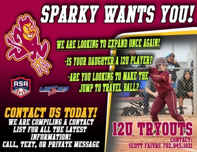 LV Sundevils Girls Softball Expanding with New 12u Team - Looking for Interested Players