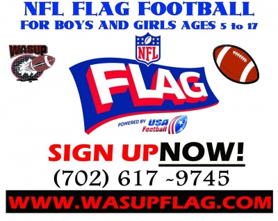 WASUP Flag Football League Spring 2014 Registration