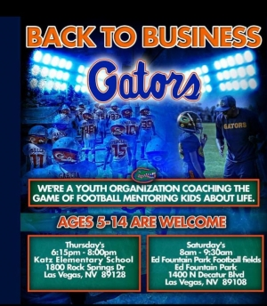 Gators Youth Football Team Looking for Players