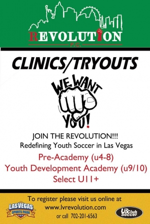 LV Revolution FC Tryouts