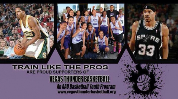 Vegas Thunder AAU Basketball Team Looking for Players - LV