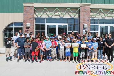 LVSF Holds First Ever Total Youth Baseball Experience