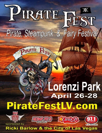 2013 Pirate Fest & Lorenzi Park Re-Opening