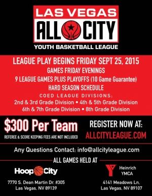 All City Youth Basketball League Now Registering for Fall