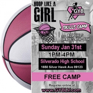 Hoop Like A Girl Free Skills Camp
