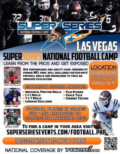 Super Series National Football Camp