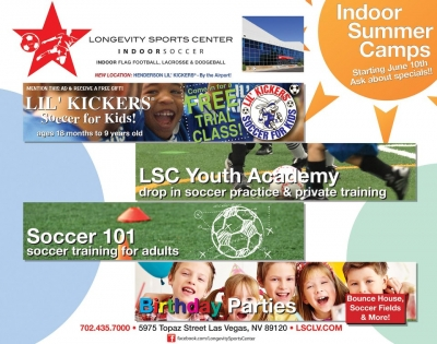 Longevity Sports Center Summer Youth Sports Camps