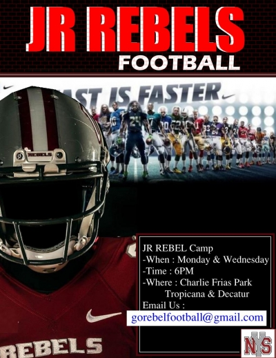 Jr Rebels Youth Football Team Looking for Players